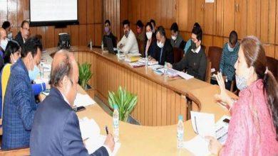 Photo of महिला सशक्तिकरण एवं बाल विकास विभाग की समीक्षा करते हुएः विभागीय मंत्री रेखा आर्य