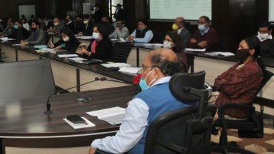 Photo of सीएम मॉनिटरिंग डैशबोर्ड के सम्बन्ध में बैठक करते हुए: मुख्य सचिव