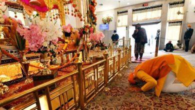 Photo of प्रधानमंत्री ने गुरुद्वारा रकाबजंग का दौरा किया, गुरु तेग बहादुर जी को श्रद्धासुमन अर्पित किए