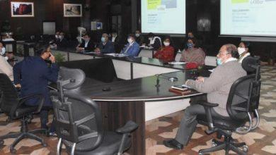 Photo of सचिवालय में ई-ऑफिस की समीक्षा करते हुएः मुख्य सचिव