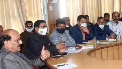 Photo of किसान रेल के संचालन के सम्बन्ध में समीक्षा बैठक लेते हुएः सुबोध उनियाल