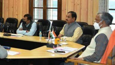 Photo of मुख्यमंत्री की अध्यक्षता में आयोजित हुई उत्तराखण्ड कैम्पा की बैठक