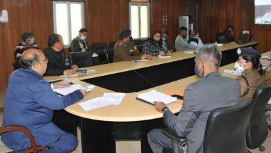 Photo of आकस्मिक बाढ़ व आपदा की रोकथाम के सम्बन्ध में बैठक करते हुए:करते हुए: मुख्य सचिव ओम प्रकाश