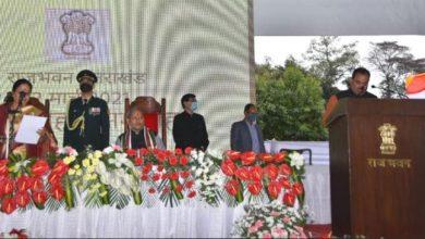 Photo of राज्यपाल ने कैबिनेट मंत्रियों एवं राज्य मंत्रियों को पद एवं गोपनीयता की शपथ दिलाई