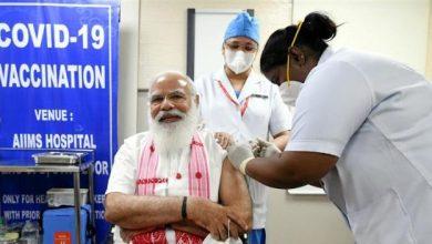 Photo of प्रधानमंत्री ने कोविड-19 वैक्सीन की पहली खुराक ली