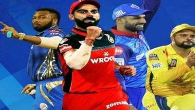 Photo of IPL 2021: शुक्रवार से शुरू होगा आईपीएल का 14वां सीजन, पहला मैच मुंबई और बेंगलुरु के बीच