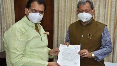 Photo of CM तीरथ सिंह रावत से विधानसभा अध्यक्ष, श्री प्रेमचंद्र अग्रवाल ने मुलाकात की
