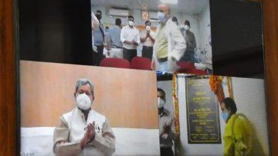 Photo of श्रीनगर मेडिकल कॉलेज में स्थापित 30 नए आई.सी.यू बेड का वर्चुअल माध्यम से लोकार्पण करते हुएः सीएम
