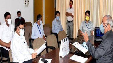 Photo of खाद्य् एवं नागरिक आपूर्ति विभाग की विभागीय समीक्षा बैठक करते हुएः मंत्री बंशीधर भगत