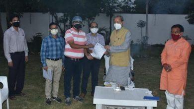 Photo of ऊर्जा ऑफिसर सुपरवाइजर एंड स्टाफ एसोसिएशन के पदाधिकारियों ने मुख्यमंत्री तीरथ सिंह रावत से मुलाकात की