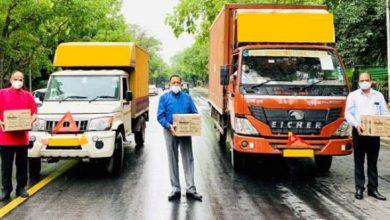 Photo of केंद्रीय मंत्री डॉ. जितेंद्र सिंह ने दो राजधानी शहरों, जम्मू और श्रीनगर के लिए कोविड संबंधित सामग्री की अलग-अलग खेप रवाना की
