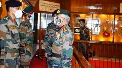 Photo of सेना प्रमुख ने शिमला में सेना के प्रशिक्षण कमान का दौरा किया