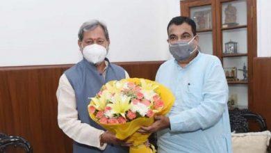 Photo of मुख्यमंत्री ने नई दिल्ली में केन्द्रीय सड़क परिवहन मंत्री से की मुलाकात
