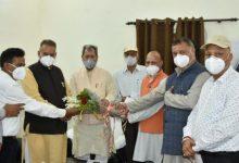Photo of 'सेवानिवृत्त राजकीय पेंशनर संगठन' ने कैबिनेट मंत्री गणेश जोशी के नेतृत्व में मुख्यमंत्री से की मुलाकात