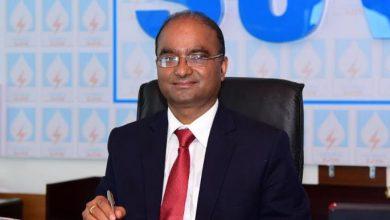 Photo of एसजेवीएन के अध्यक्ष एवं प्रबंध निदेशक, श्री नन्द लाल शर्मा को 'पीएसयू अवार्ड ऑफ द ईयर 2020' से नवाजा गया