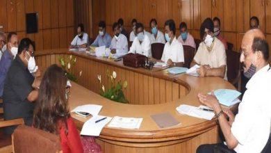 Photo of कृषि विभाग की समीक्षा बैठक लेते हुएः मंत्री सुबोध उनियाल