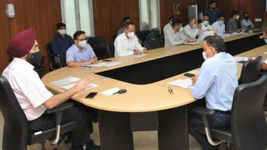 Photo of मुख्य सचिव ने की केदारनाथ पुनर्निर्माण कार्यों की समीक्षा