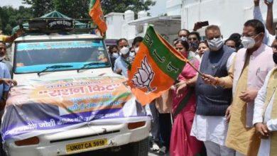 Photo of ग्रामीण इलाकों हेतु कोविड राहत सामग्री की 10 गाड़ियों का फ्लैग ऑफ करते हुएः सीएम