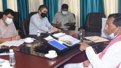Photo of जल जीवन मिशन की समीक्षा बैठक लेते हुएः बिशन सिंह चुफाल