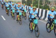 Photo of आजादी के अमृत महोत्सव के अंतर्गत साइक्लिंग अभियान