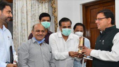 Photo of मुख्यमंत्री से औद्योगिक संगठनों के प्रतिनिधियों ने की भेंट