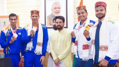 Photo of खिलाड़ियों की अधिक से अधिक मदद करने के लिए टार्गेट ओलंपिक पोडियम योजना को आगे बढ़ाया जाएगा और मजबूत किया जाएगा: अनुराग ठाकुर