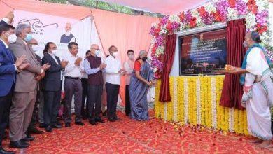 Photo of केंद्रीय वित्त मंत्री श्रीमती निर्मला सीतारमण ने आयकर विभाग के कार्यालय भवन की आधारशिला रखी