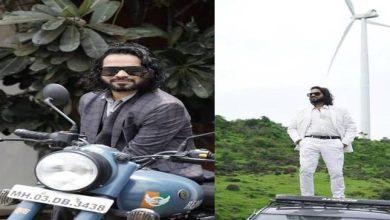 Photo of Indian travel influencer Romir Sen in World Peace Gagar, Devbhoomi, Uttarakhand