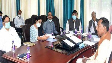 Photo of पेयजल विभाग की समीक्षा बैठक लेते हुएः मंत्री बिशन सिंह चुफाल