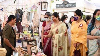 Photo of समापन सत्र में मुख्यमंत्री पुष्कर सिंह धामी की धर्मपत्नी श्रीमती गीता धामी ने प्रतिभाग किया