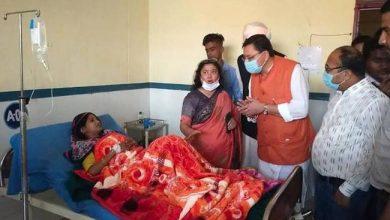 Photo of नागरिक चिकित्सालय खटीमा में मरीजों का जाना हाल-चाल, अस्पताल की व्यवस्थाओं का लिया जायजा: सीएम